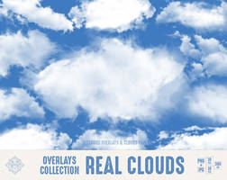Cloud Overlays Real Clouds by DigiWorkshopPixels