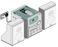 CD Radio Stereo System by parekhj