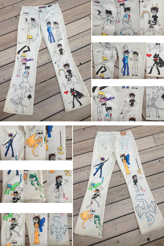 Homestuck pants by AnsleeCake