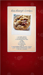 Kris Kringle Cookie Recipe