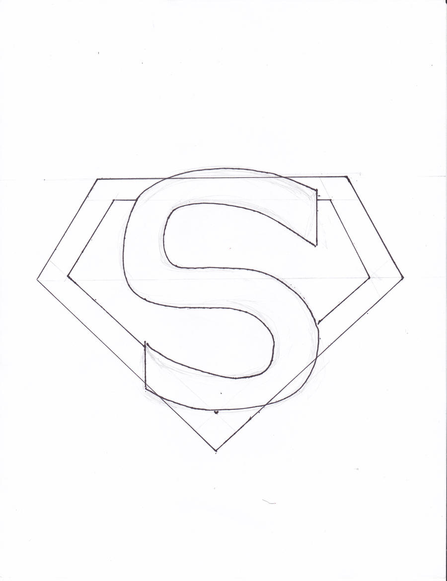 Superman Logo Coloring Pages Superman Logo Coloring Pages