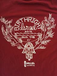 Birthright Shirt Design