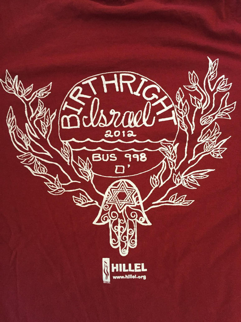 Birthright Shirt Design by Leahna