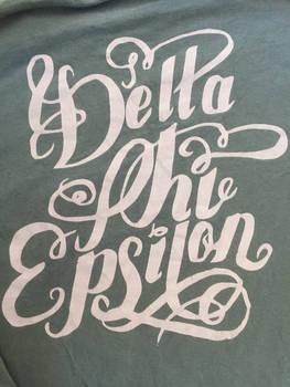 Delta Phi Epsilon shirt drsign