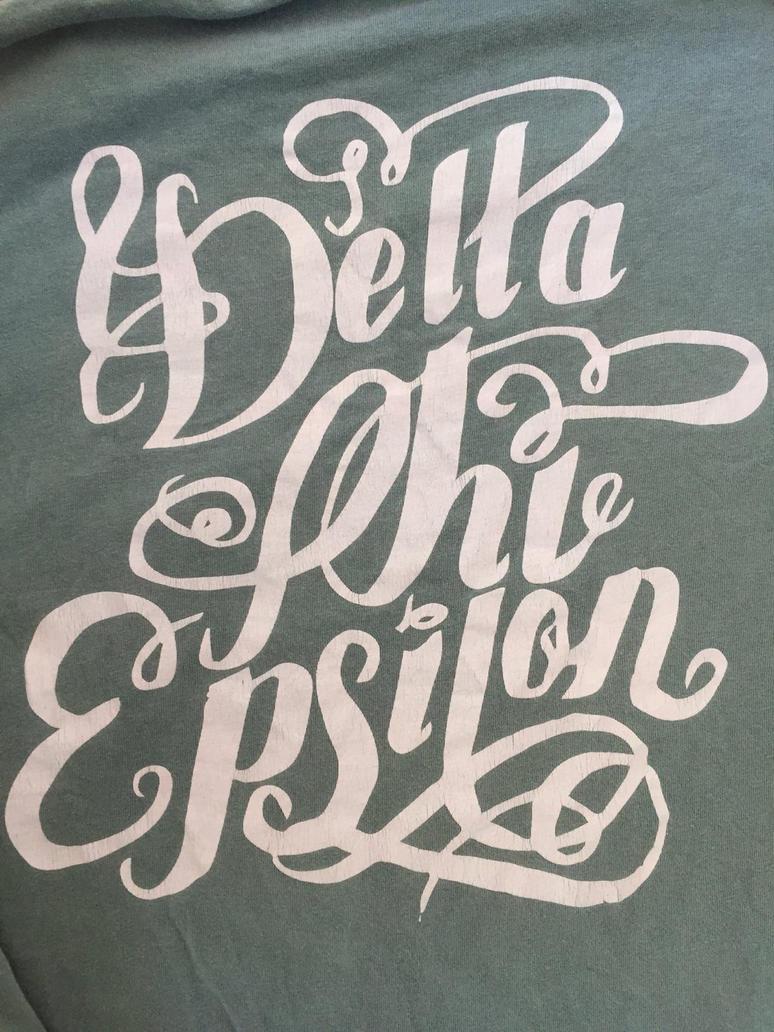 Delta Phi Epsilon shirt drsign by Leahna