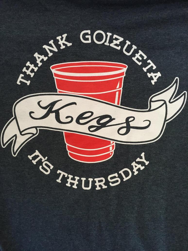 Goizueta Kegs  by Leahna
