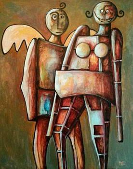 ANGEL and ROBOT WOMAN