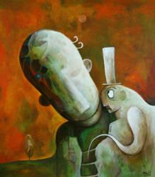 Compassion - 70x60 canva,acryl