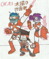 ok ko:the guardians of the sun by yogelis