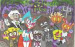 Art Trade: feliz hallowen nicktoons