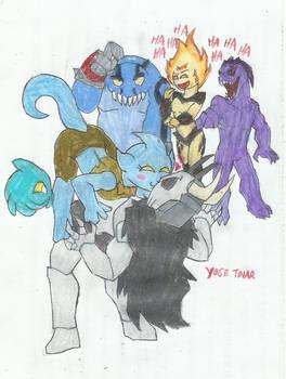 (Art gift ) Thorn x Crusher