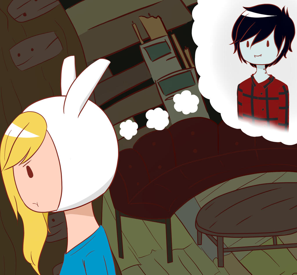 Fionna and Marshall Lee - Adventure Time by KagenexRui on ...