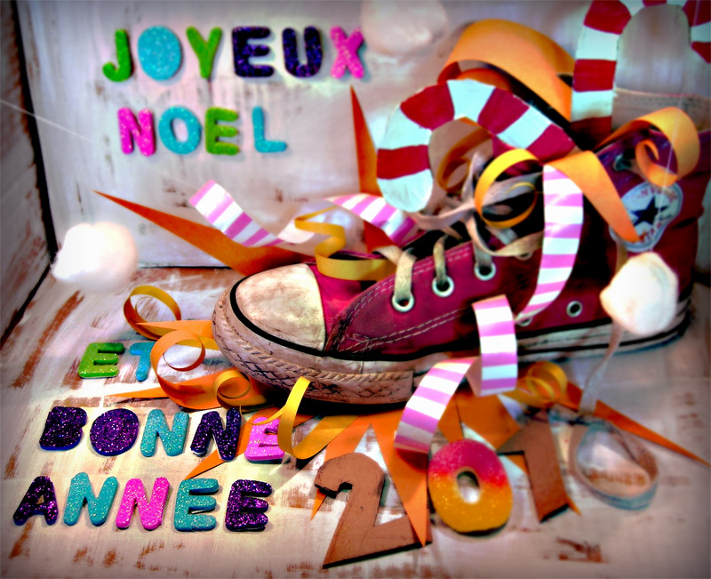 Joyeux noel et bonne annee by Kezako