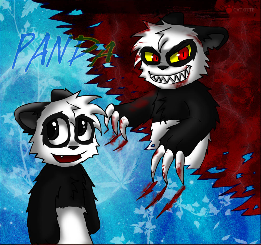 Panda -- another style by catkitte