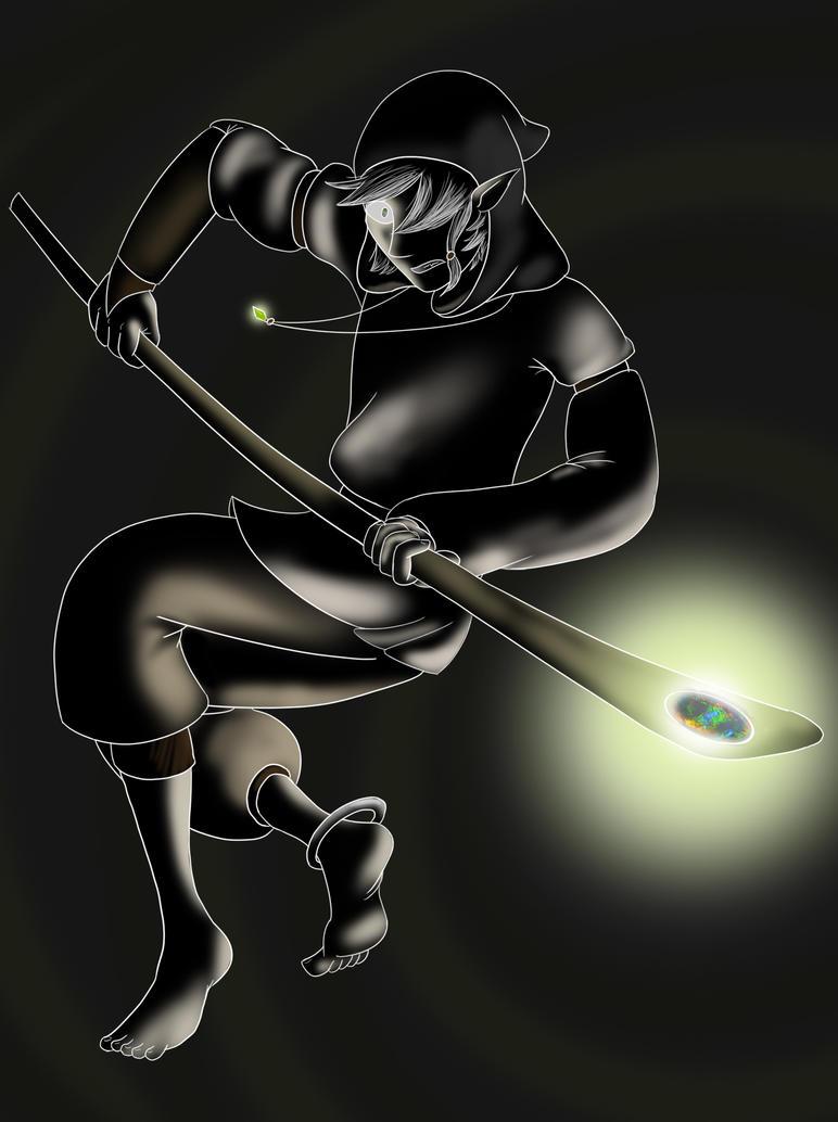 BattleStance_Black by LibraryCrew