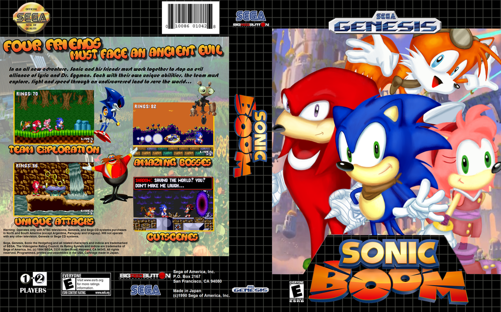 Sonic Boom Genesis by HeroXeus12 on DeviantArt