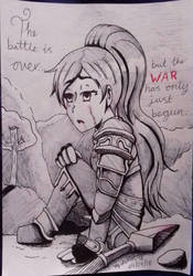 helona on the battlefield