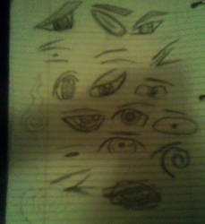 sketched anime eyes 2
