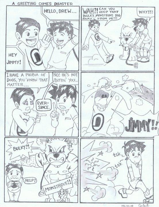 Sample Of My Comic Strip By S0nix22