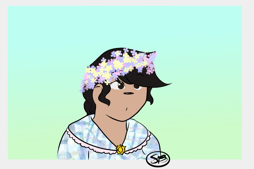 Philippines in a flower crown because yes by EyyGreenBean