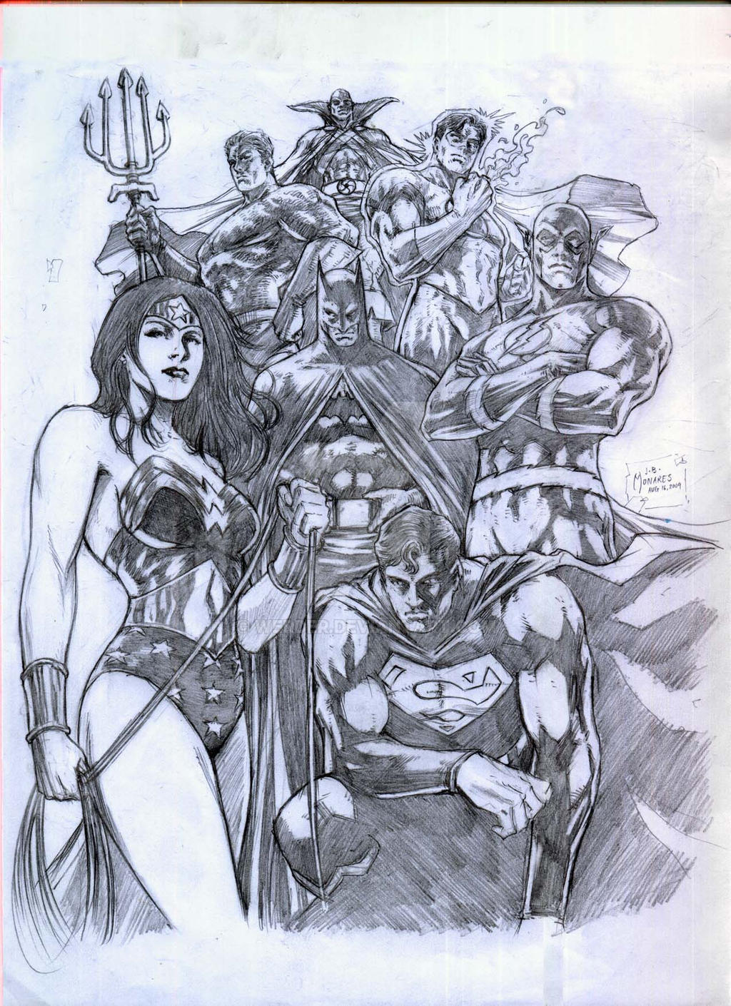 The Superfriends WIP by werder