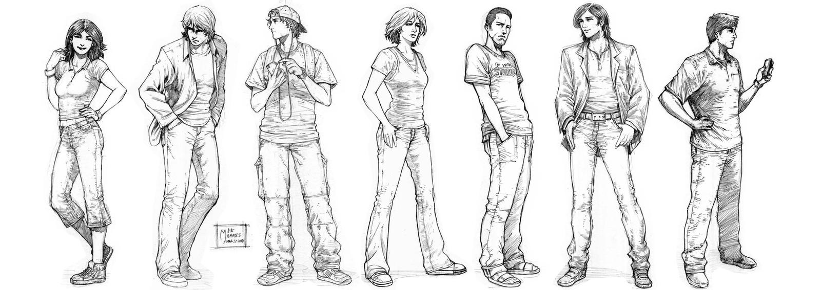 Project Legacy: Protagonists by werder
