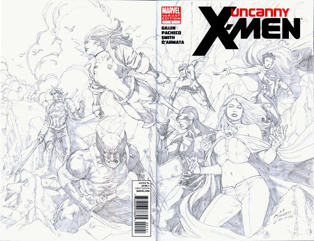 Uncanny X-Men Cover Ops I by werder