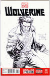 Wolverine Blank Cover Commission
