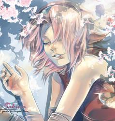 Sakura Haruno fan art by AngelaLara