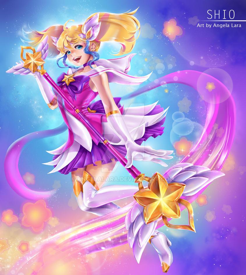 Shio cosplay Star Guardian Lux by AngelaLara