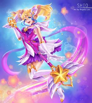 Shio cosplay Star Guardian Lux