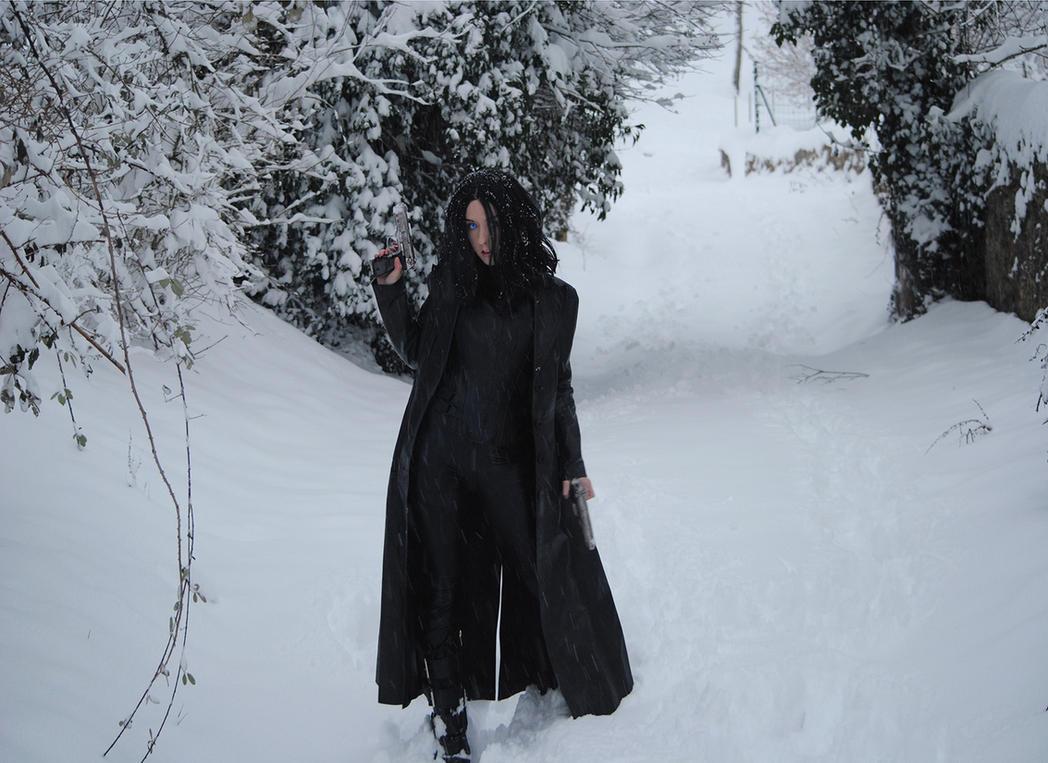 Selene Underworld cosplay by AngelaLara