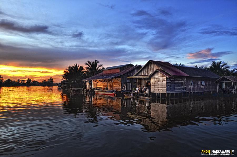 Lok Baintan Village by AndieMakkawaru