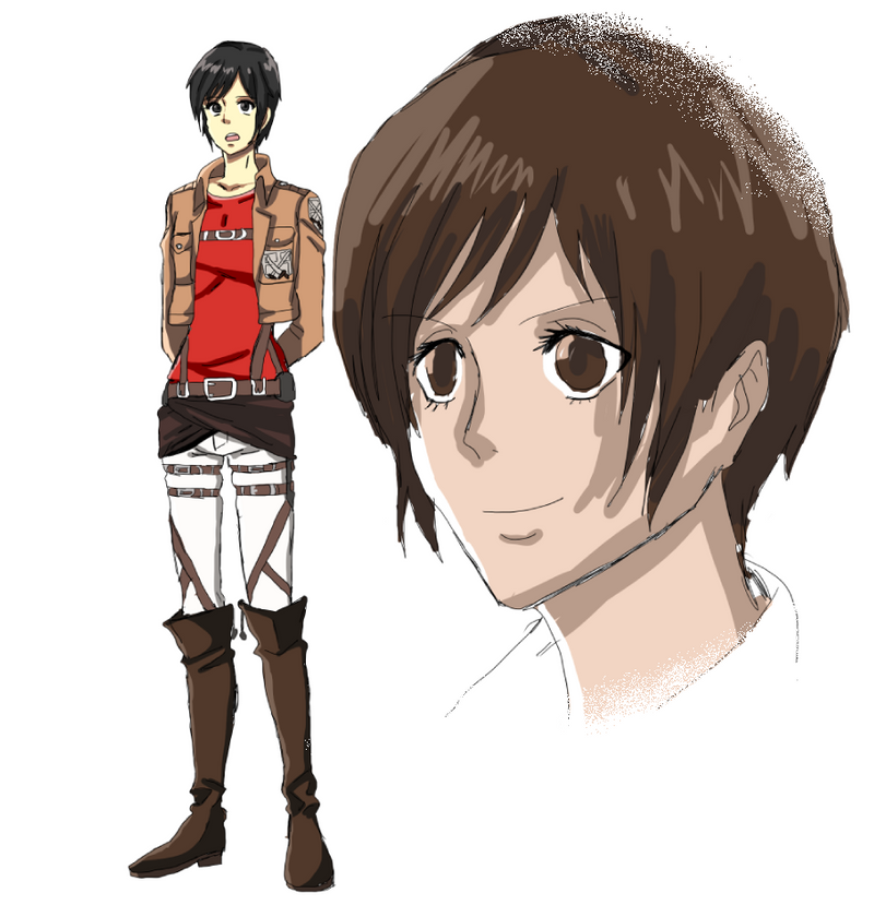 Shingeki No Kyojin OC [Concept Art] By Rivokko On