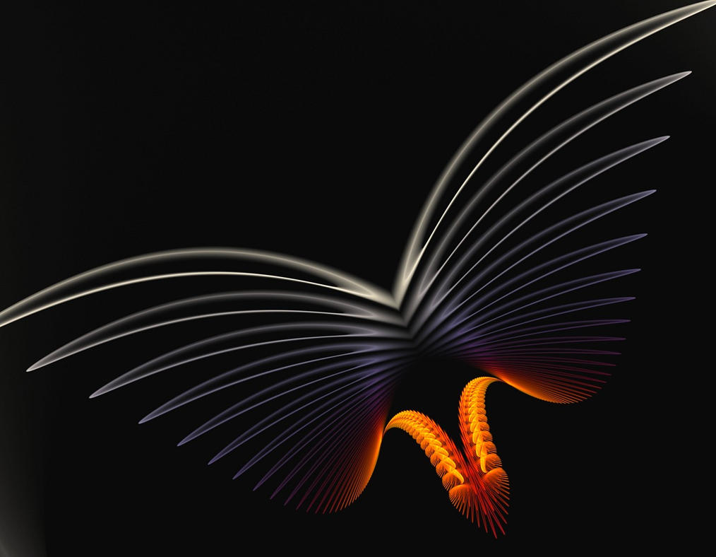 dark butterfly by eReSaW