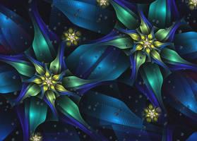 Flowers in the Rain by eReSaW