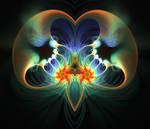 Brain of a fractal addict