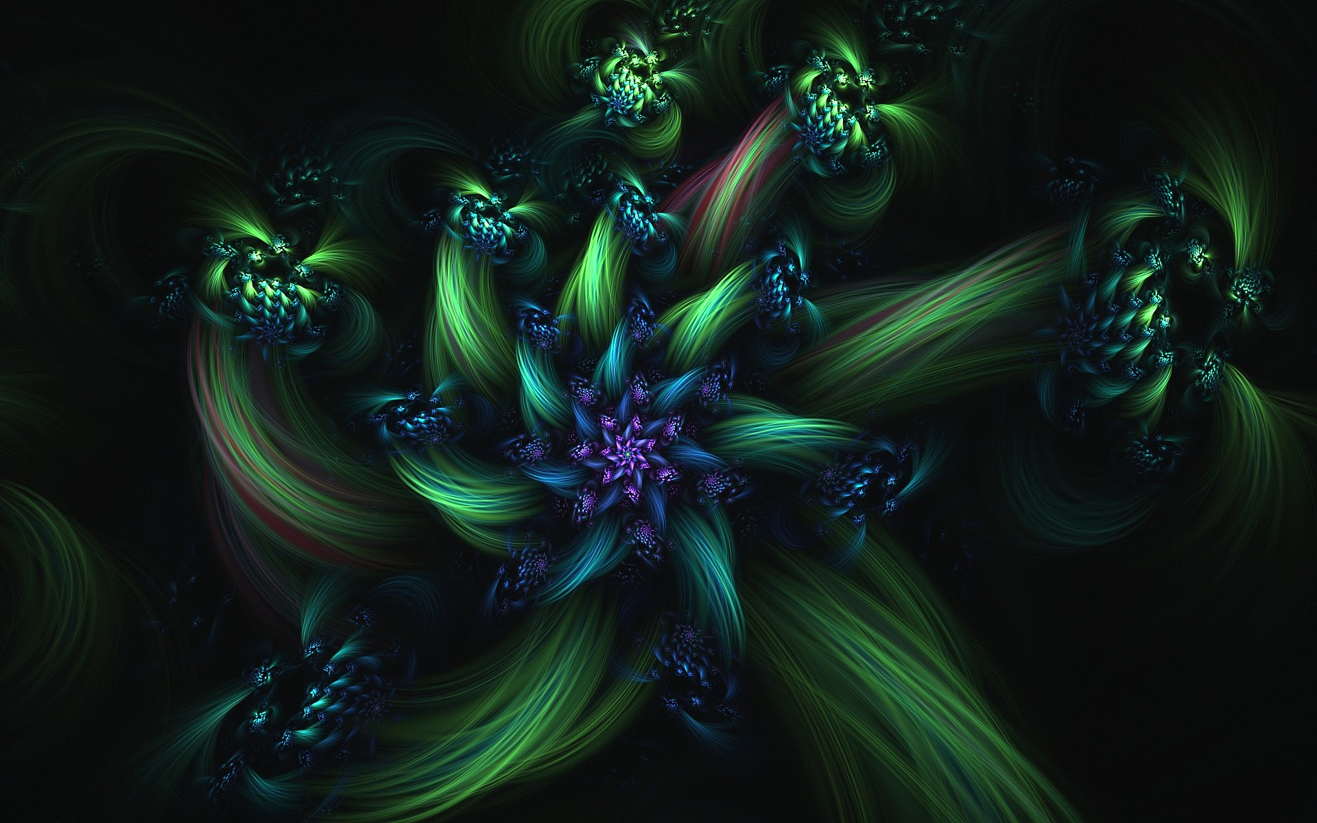 Emerald-Flower by eReSaW