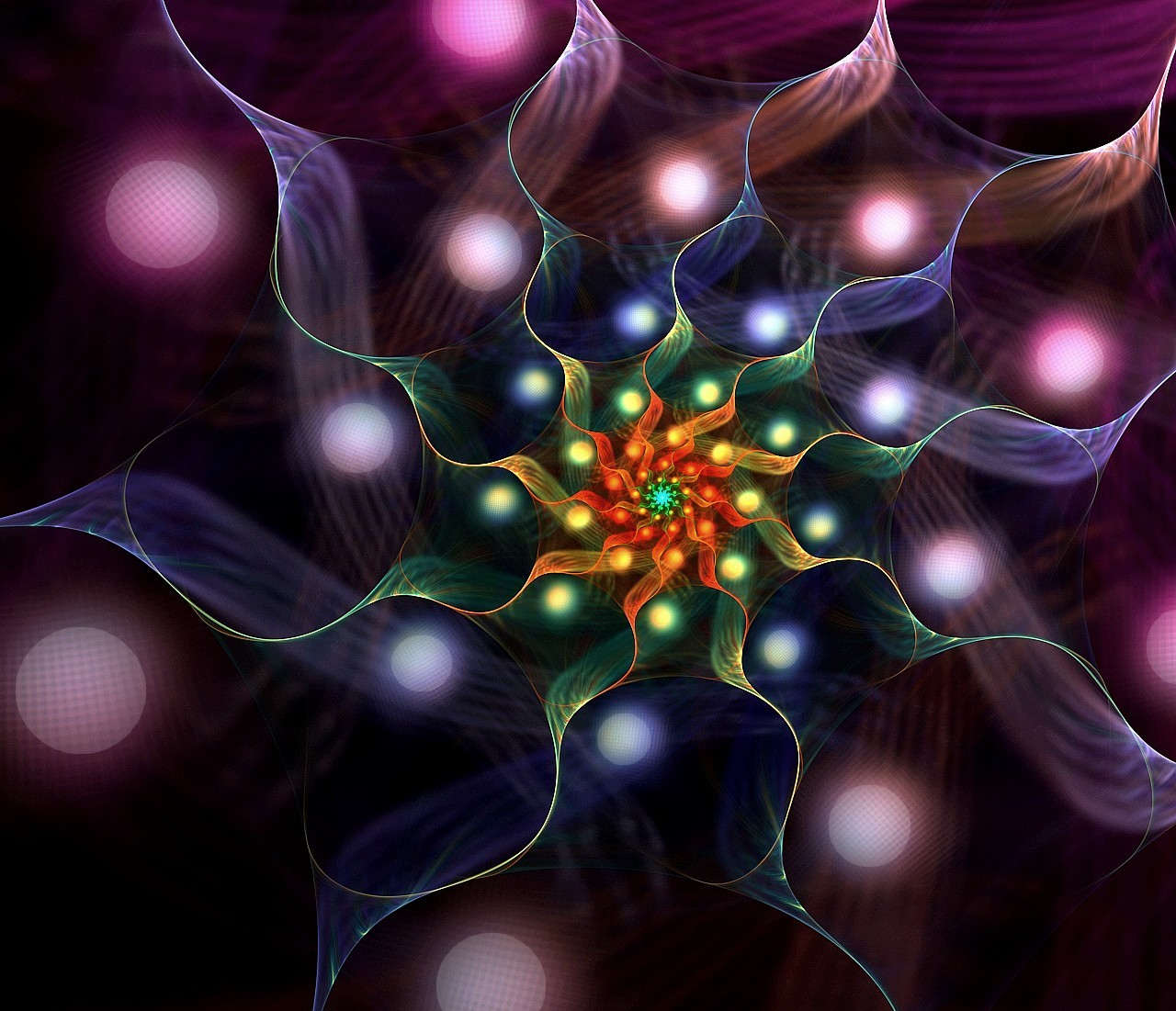 Lampion flower by eReSaW