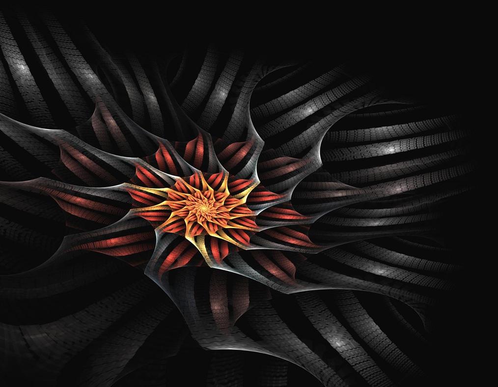 Snake-Flower by eReSaW