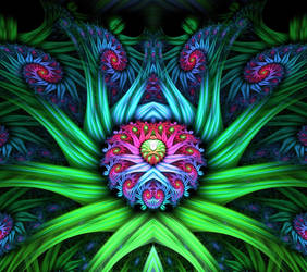 The Heart of the Flower Queen by eReSaW