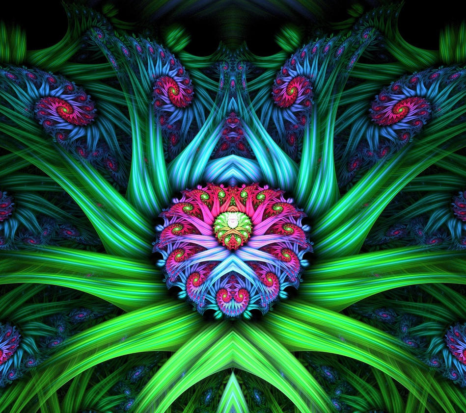 the heart of the flower queen by eresaw on deviantart, Beautiful flower