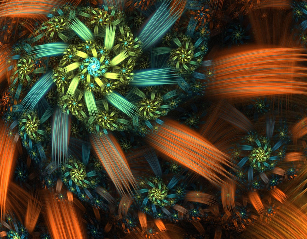 Flower - Spiral by eReSaW