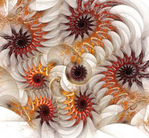 Swirling Forms With Bionic Vibe by eReSaW