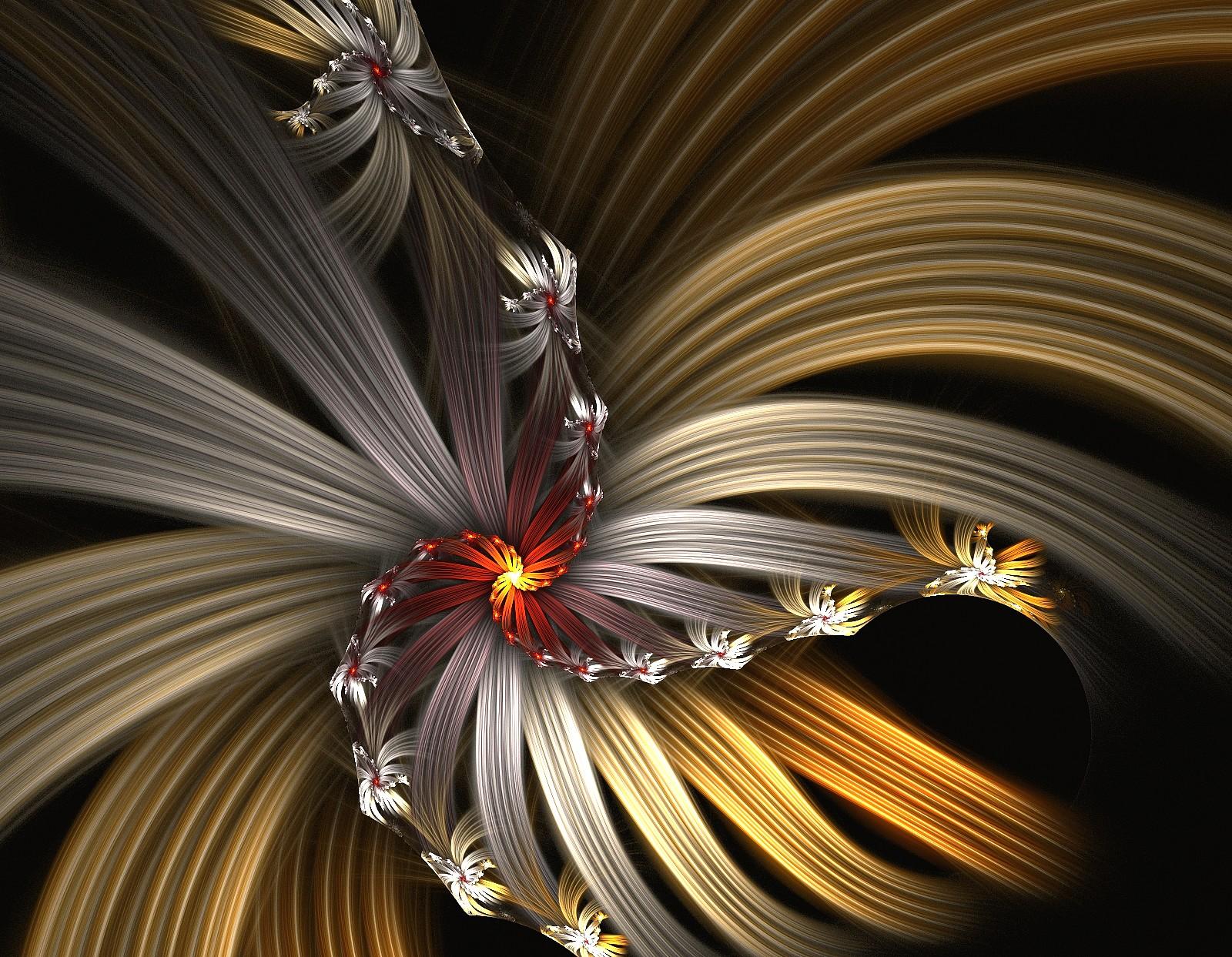 Golden Flower by eReSaW