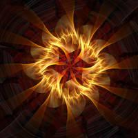 Flaming Star II by eReSaW