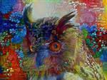 Flower Power Owl
