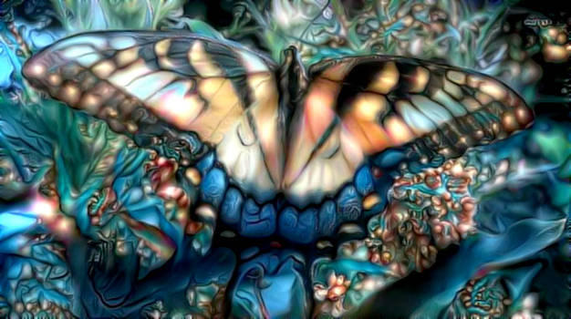 Keep Calm and Fly Like a Butterfly by eReSaW