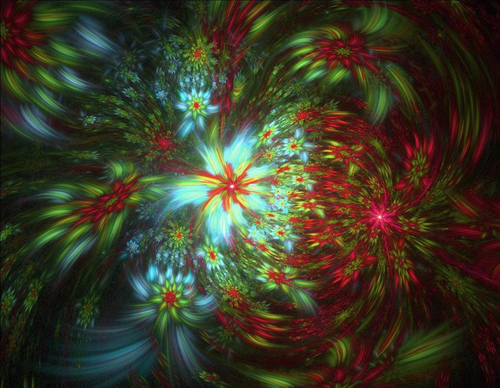 Flower Tornado by eReSaW
