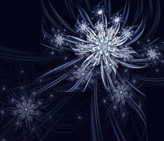 Ice Flowers by eReSaW